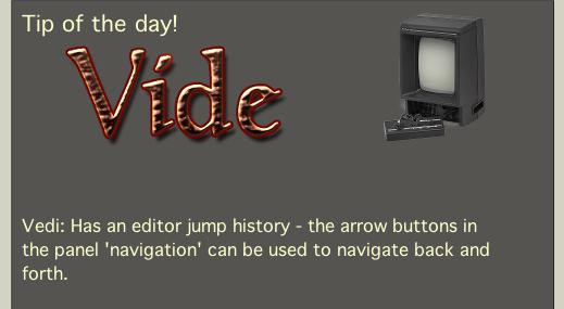 19th of September – Vide 2.0 (announcement)